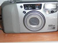 Pentax IQ Zoom 115M pocket camera. 38-115 zoom.