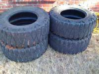 have a set of 35'' mud grapplers that will fit an 18''