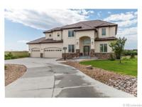 A truly custom home in the breathtaking scenery Blue
