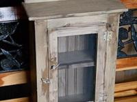 Primitive Small Cabinets - 3 to choose from ($35 each)