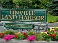 Large RV Lot in Land Harbor Resort, Linville, NC. This