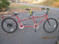5-Speed Tandem Bicycle mostly refurbished by previous