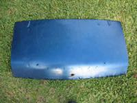 A trunk lid for a round tail Spitfire. This will fit