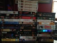 I have 35 VHS movies, some are still in shrink wrap