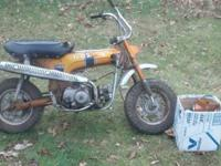 I have a 1970 Honda CT70 Trail 70 with title. Needs