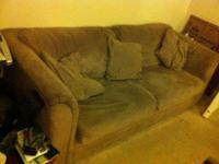 I have 2 nice matching microfiber sofa's. Clean and