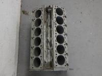 This is a BMW V12 engine block, stripped and degreased.