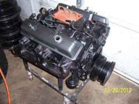 THIS IS A 1978 350 4 BOLT MAIN CHEVY MOTOR ONLY HAS