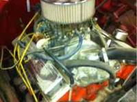 Strong running 350 chevy motor With turbo 350 trans.