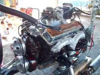 chevy 350 complete rebuilt engine ///30 bore////flat