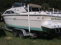 Newer great motor - new gages. Still in Sea Ray Boat -