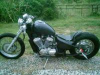IF YOU WOULD LIKE ME TO BOBBER YOUR MOTORCYCLE CALL ME