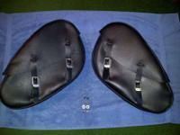 Harley Davidson Sportster OEM Teardrop Leather