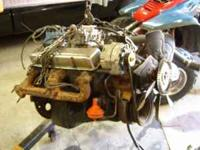 1 350 motor complete with new carb and clutch fan and