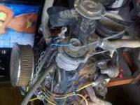 350 motor came out of 86 gmc sierra mud truck. Its