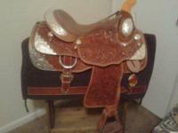 "i have 6 brand new western saddles. all 16"" beautiful"