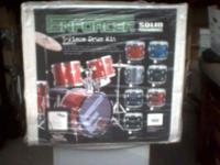 Enforcer five piece drum set, brand new in box # EDS