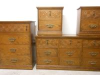 6 Piece Bassett Furniture Bedroom Set4   Drawer Dresser
