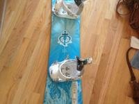 I have a Women's Nitro Snowboard, part of the Janna