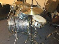 For sale are my Pearl Vision four piece shell pack.