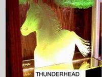 SANDCARVED PICTURE CALLED THUNDERHEAD, BEAUTIFUL