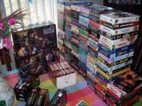 I have about 350 obo vhs movies for sale $1 each and
