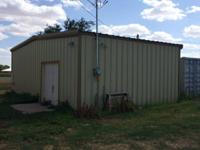25 x 30 FREE STANDING BUILDING. WITH A BATHROOM AND