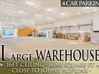 2230 FAYETTE ST E, BALTIMORE, MD 21231  LARGE WAREHOUSE