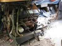 1978 FORD 351 MIDLAND ENGINE AND TRANSMISSION