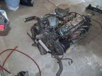 I have a 351 modified with a 4 speed auto trans has