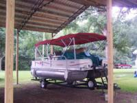 2006 Bentley 240 Fish with trailer24' pontoon boat with