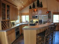 This home is located on the North end of Sunriver, just