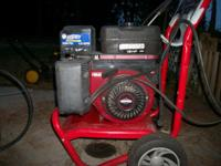 Pressure washer low hours great for commercial use