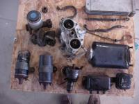 ORIGINAL 356 PORSCHE PARTS: VARIOUS SMALL PARTS NOT