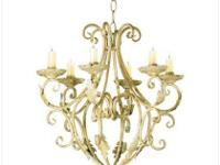 Description Elegant candleholder chandelier is