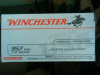 357 shells for sale. I have: 1 box of 50 Winchester 357