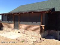 Awesome log home on the edge of townon 14 acres. The