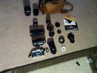 Camera body: Olympus OM 10 Lenses: Olympus OM-System