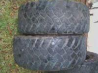 35x12.50-17 Nitto Trail Grapplers. 25% tread. These