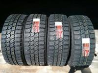 We have 35x12.50 R20 Gladiator M/T tires on unique they