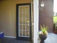 "36"" - 15 pane right hand open outer steel door for"