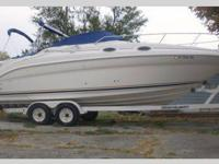 This Sea Ray 260 Sundancer is the most popular mid