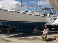 This 36 foot, 1977 Pearson 365 is located in Danvers,