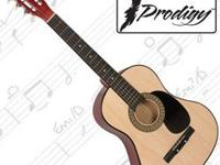 This acoustic guitar is a dream for beginner's and