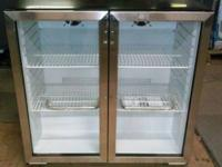 Brand New 36 Inch Commercial Beverage Center with 4