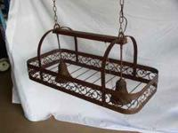 "36"" double light pot rack $150 (cash only) (this is 75%"