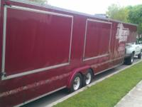 I'm selling a 36 foot cargo trailer it has 2 5200lb