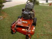 If ur looking for a mower that will go through any back