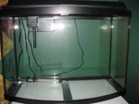 36 gallon bowfront tank. No cracks or scratches and