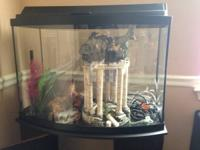36 Gallon fish tank for sale! Exceptional condition.